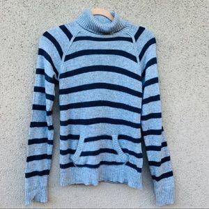 Ci Sono by Cavallini Striped turtleneck sweater L